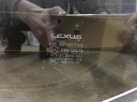 Заднее боковое стекло на Lexus LX570 за 25 000 тг. в Алматы – фото 2