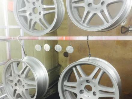 Покраска реставрация дисков. в Алматы – фото 92