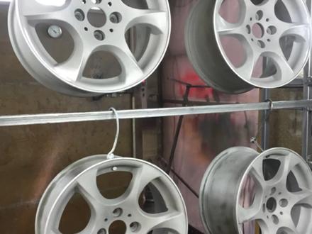 Покраска реставрация дисков. в Алматы – фото 178