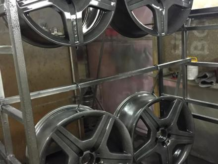 Покраска реставрация дисков. в Алматы – фото 182