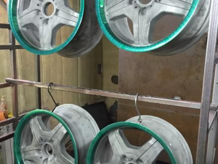 Покраска реставрация дисков. в Алматы – фото 217