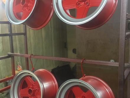 Покраска реставрация дисков. в Алматы – фото 231