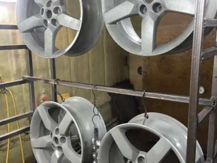 Покраска реставрация дисков. в Алматы – фото 243