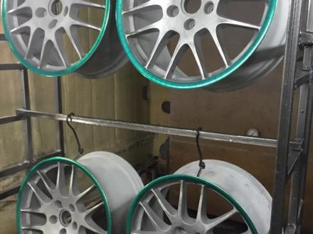 Покраска реставрация дисков. в Алматы – фото 275