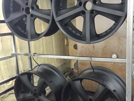 Покраска реставрация дисков. в Алматы – фото 295