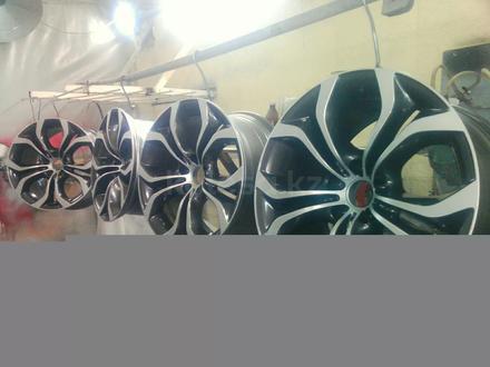 Покраска реставрация дисков. в Алматы – фото 318