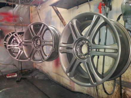 Покраска реставрация дисков. в Алматы – фото 368