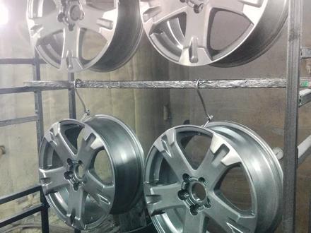 Покраска реставрация дисков. в Алматы – фото 396