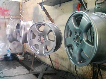Покраска реставрация дисков. в Алматы – фото 402