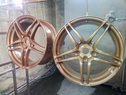 Покраска реставрация дисков. в Алматы – фото 405