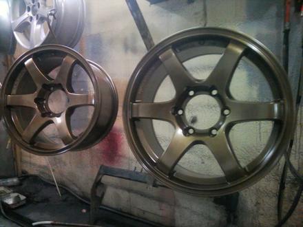 Покраска реставрация дисков. в Алматы – фото 439