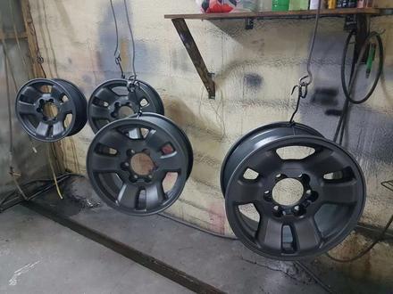 Покраска реставрация дисков. в Алматы – фото 453
