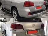 Комплект рестайлинга (переделка) на Lexus LX570 2007-2011 под 2012-2015 г за 750 000 тг. в Актау – фото 2