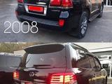 Комплект рестайлинга (переделка) на Lexus LX570 2007-2011 под 2012-2015 г за 750 000 тг. в Актау – фото 5