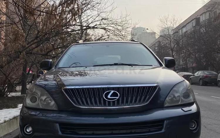 Lexus RX 400h 2008 года за 6 300 000 тг. в Алматы