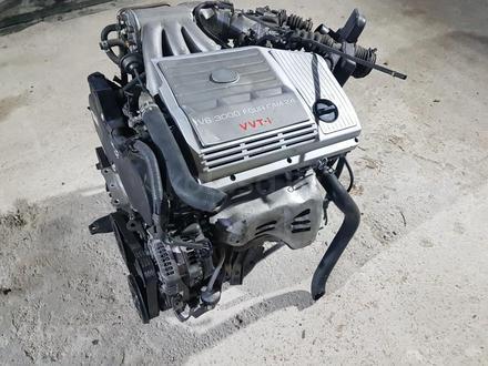Двигатель Toyota 1MZ-FE 3.0 л мотор тойота 1mz fe ДВС за 419 000 тг. в Алматы – фото 2