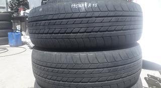 Резина 2 колеса 195/65 r15 Bridgestone из Японии за 15 000 тг. в Алматы