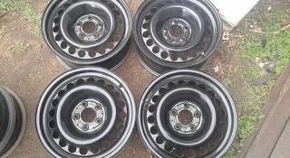 Оригинальные металлические диски на Mercedes (R16 5*112 ЦО66.6 7J за 50 000 тг. в Нур-Султан (Астана)