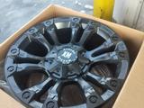 Диск новые усиленные фирменные авто диски Matt black за 440 000 тг. в Алматы – фото 3