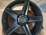 Диск новые усиленные фирменные авто диски Matt black за 440 000 тг. в Алматы – фото 5