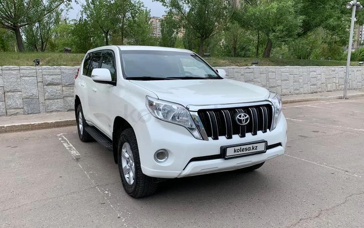 Toyota Land Cruiser Prado 2014 года за 13 900 000 тг. в Нур-Султан (Астана)