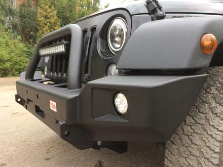 Бампер РИФ передний Jeep Wrangler JK 2006 + с доп… за 215 000 тг. в Алматы – фото 7
