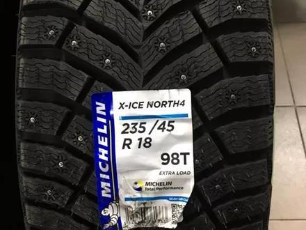 Шины Michelin 235/45/r18 X Ice North 4 за 85 000 тг. в Алматы