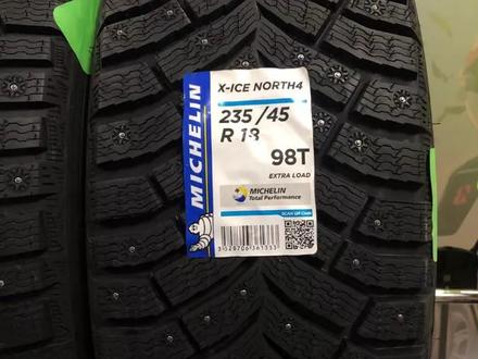 Шины Michelin 235/45/r18 X Ice North 4 за 85 000 тг. в Алматы – фото 3