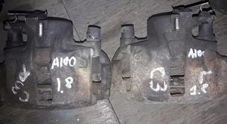 Суппорта передние на Ауди 100 Audi 100 C3 оригинал привозные… за 5 000 тг. в Алматы