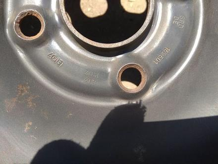 Железные диски на Ауди Б4 R15 (4*108 6J ЦО57.1 ЕТ37). Диски ровны за 20 000 тг. в Нур-Султан (Астана) – фото 7