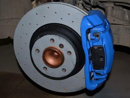 Тормозные диски Zimmermann Sport передние для BMW 335i E90 за 43 000 тг. в Алматы