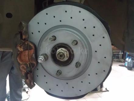 Тормозные диски Zimmermann Sport передние для BMW 335i E90 за 43 000 тг. в Алматы – фото 3