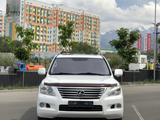 Lexus LX 570 2009 года за 13 300 000 тг. в Алматы – фото 2
