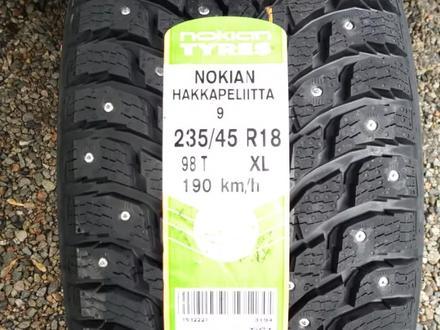 235/45 R 18 98t Nokian Hakkapeliitta 9 XL за 90 600 тг. в Алматы – фото 2