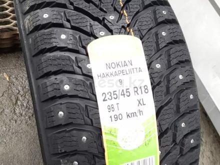235/45 R 18 98t Nokian Hakkapeliitta 9 XL за 90 600 тг. в Алматы