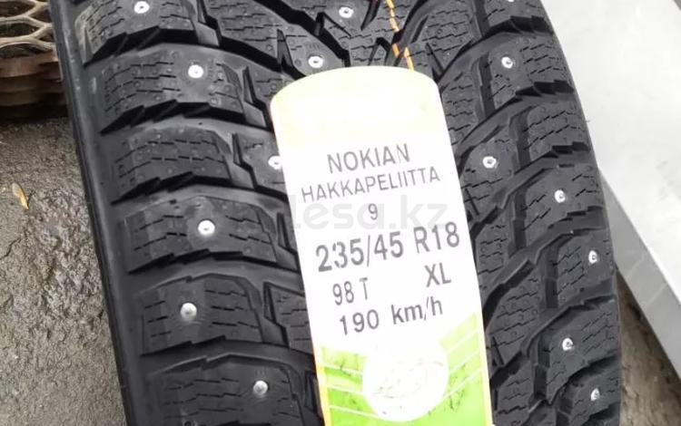 235/45 R 18 98t Nokian Hakkapeliitta 9 XL за 93 830 тг. в Алматы