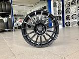 Диски литые Прома RS 4x100 r16# 33 чёрные матовые за 30 250 тг. в Тольятти – фото 2