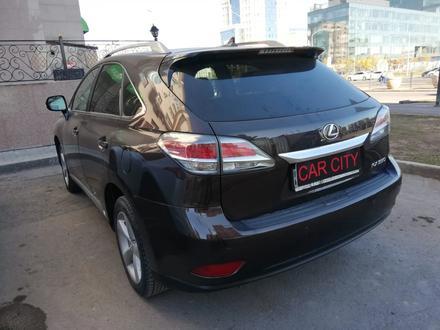 Lexus RX 350 2012 года за 11 450 000 тг. в Нур-Султан (Астана) – фото 5