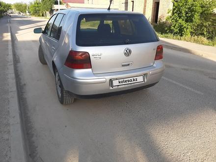 Volkswagen Golf 2002 года за 1 850 000 тг. в Шымкент – фото 2