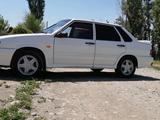 ВАЗ (Lada) 2115 (седан) 2012 года за 1 600 000 тг. в Тараз – фото 3