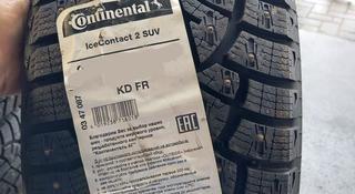 225/65 17 Шипованные шины CONTINENTAL ICE CONTACT 2 за 47 500 тг. в Алматы