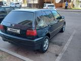 Volkswagen Golf 1993 года за 1 450 000 тг. в Нур-Султан (Астана) – фото 3