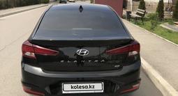 Hyundai Elantra 2019 года за 9 500 000 тг. в Алматы – фото 4