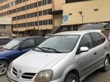 Nissan Tino 2001 года за 3 200 000 тг. в Нур-Султан (Астана) – фото 2