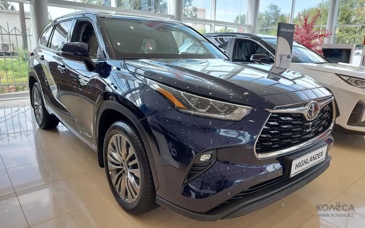 Toyota Highlander Luxe 2021 года за 33 600 000 тг. в Костанай