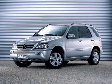 Стёкла ФАР Mercedes-BENZ ML w163 (2002-2005) за 14 600 тг. в Алматы – фото 2