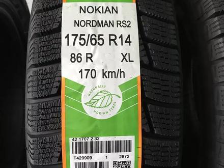 175/65 R 14 86r Nokian Nordman RS2 XL зимних шин за 15 400 тг. в Алматы