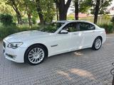 BMW 740 2014 года за 14 800 000 тг. в Алматы – фото 4
