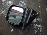Зеркало боковое левое на Митсубиси Монтеро, Паджеро левый руль за 25 000 тг. в Караганда – фото 3