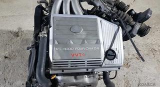 Мотор Коробка 1mz-fe Двигатель Lexus rx300 (лексус рх300) за 78 777 тг. в Алматы